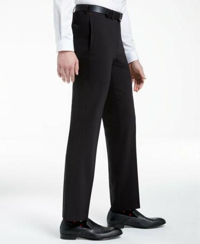 $650 Klein Slim Fit 2 suit 44R / 38 x 30 Black Flat Pant
