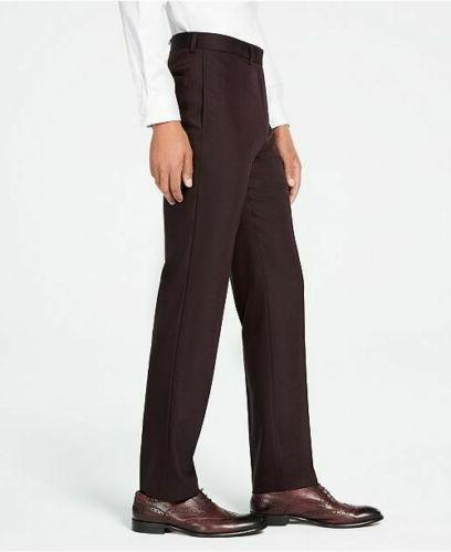 $650 Slim-Fit Burgundy Suit x