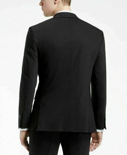 $650 Slim Fit Suit / x 30 Black Pant
