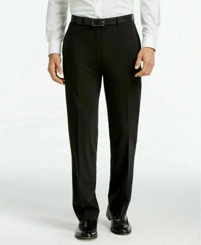 $650 Calvin Slim Suit 42R / 36 30 Black Flat