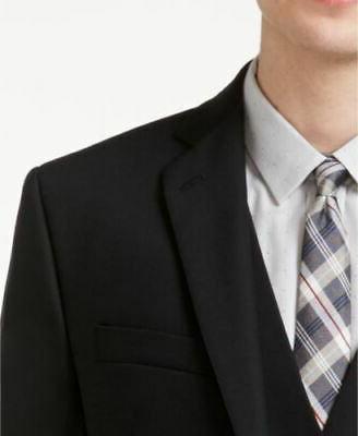 $700 Fit Black Suit x 34 Wool