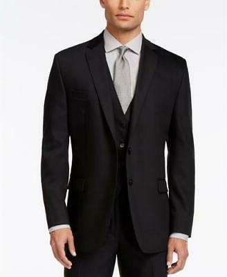 700 slim fit 2 pc black suit