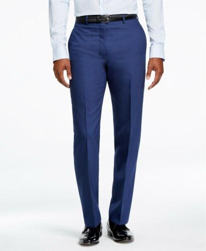 $829 CALVIN BLUE WOOL FIT JACKET BLAZER PANTS R