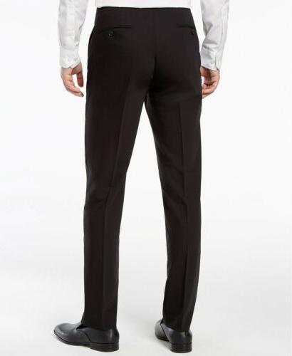 $800 CALVIN 40 R Men SLIM SUIT JACKET PANTS