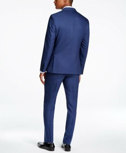$829 KLEIN BLUE FIT JACKET PANTS R