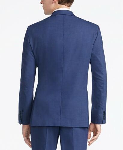 $850 CALVIN Men's BLUE FIT PIECE SUIT JACKET