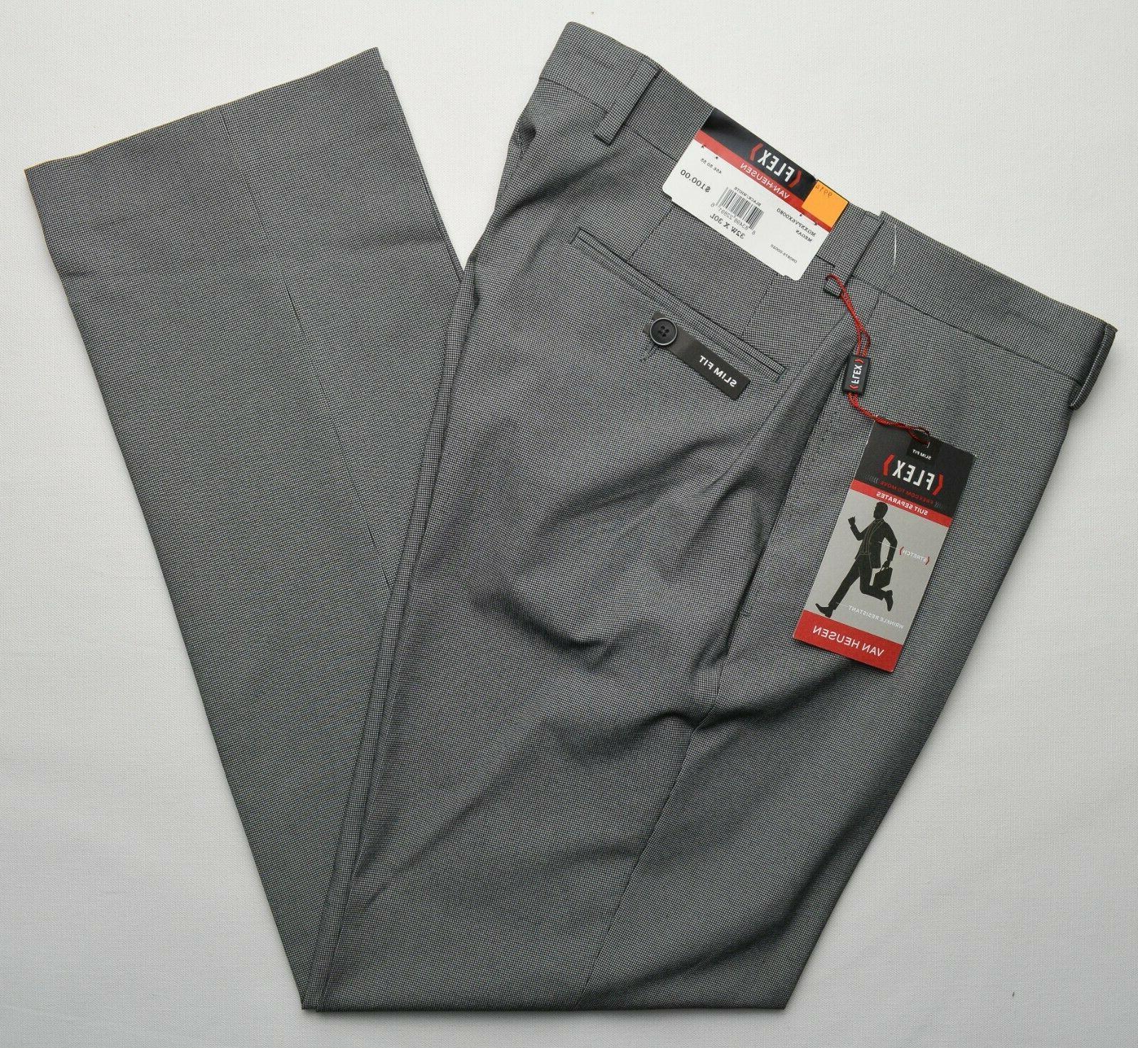 9914 new men flat front slim fit