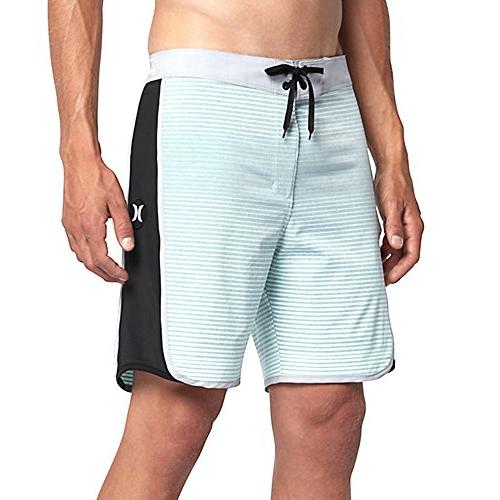 "Hurley  Men's Phantom Motion Stripe 19"" Boardshorts Mint Foa"