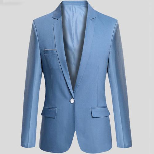 Men's Slim Fit One Business Work Outwear
