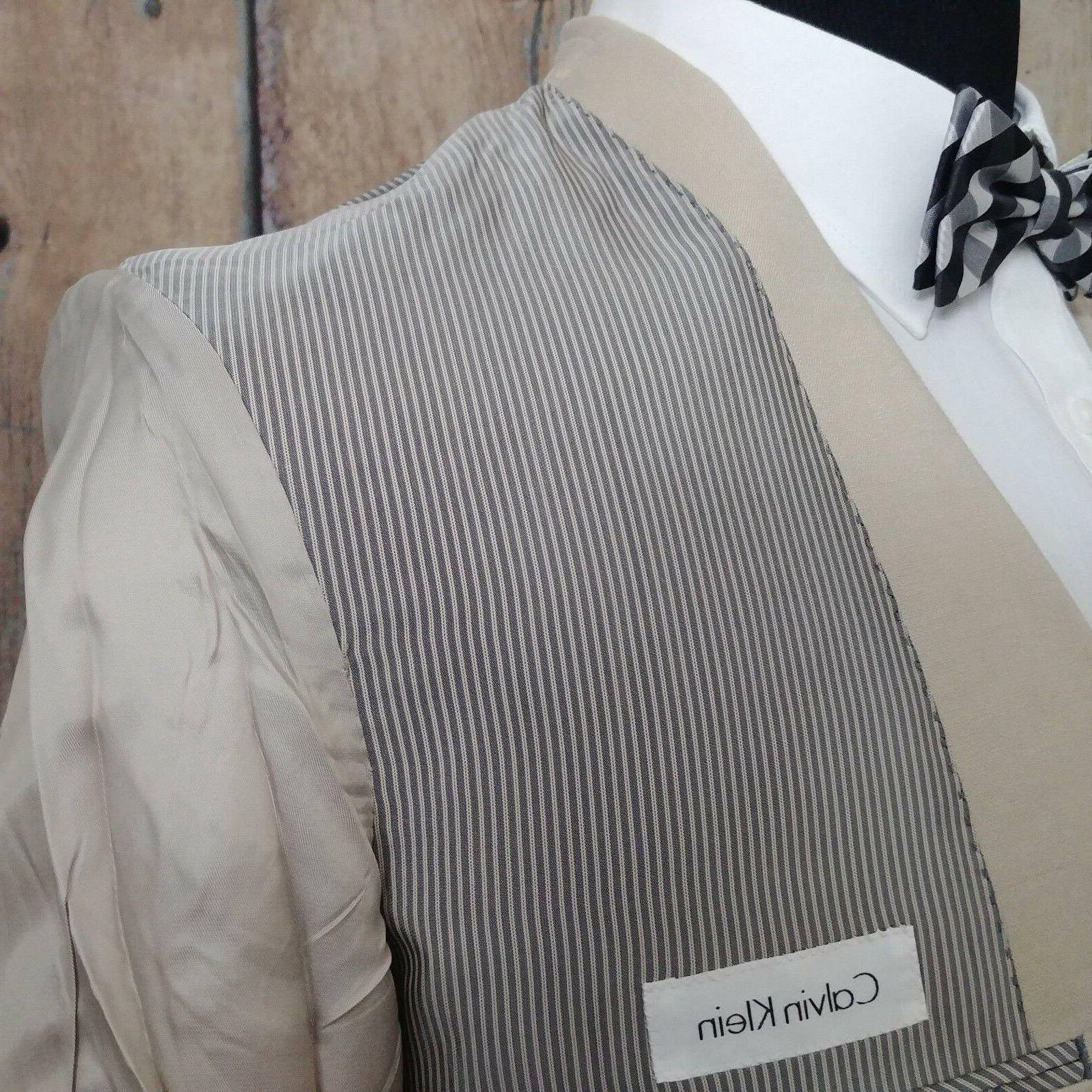NEW Calvin Sport Coat Linen Blazer