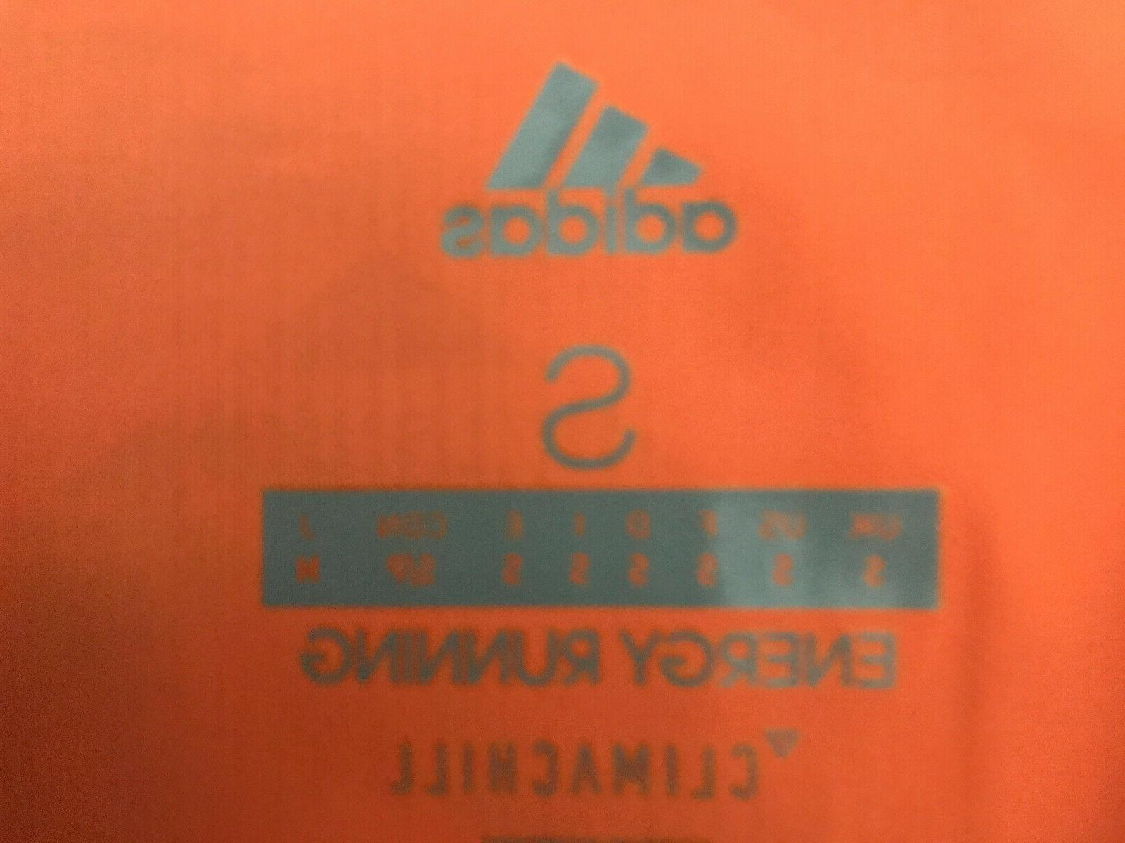 Adidas Running Track Suit Mens Size Small Orange NWT Defect