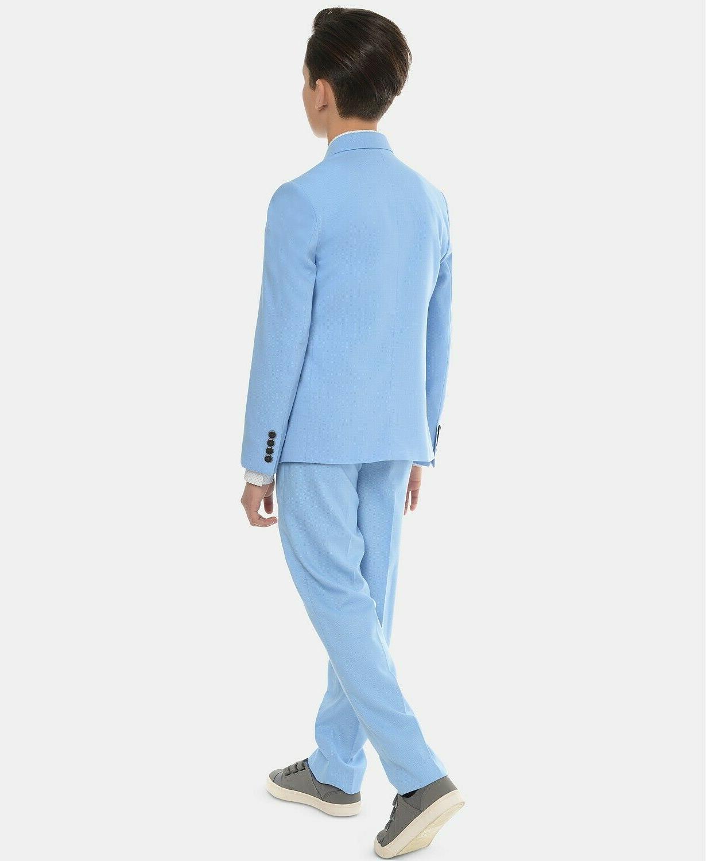 Calvin Klein Stretch Pindot Jacket - Blue