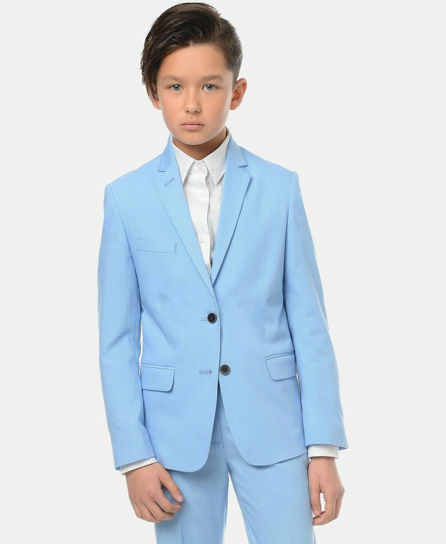 big boy s stretch pindot suit jacket