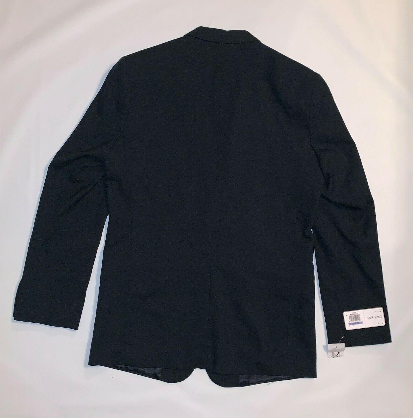 Calvin Klein Youth Cuff Bi-Stretch Suit Reg
