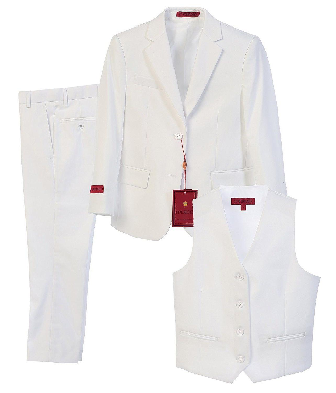 boy s formal suit set whit 3
