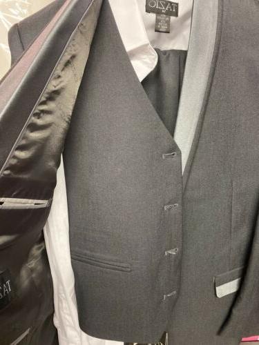 Tazio Boys Classic Suit Charcoal Size 14 $129.00