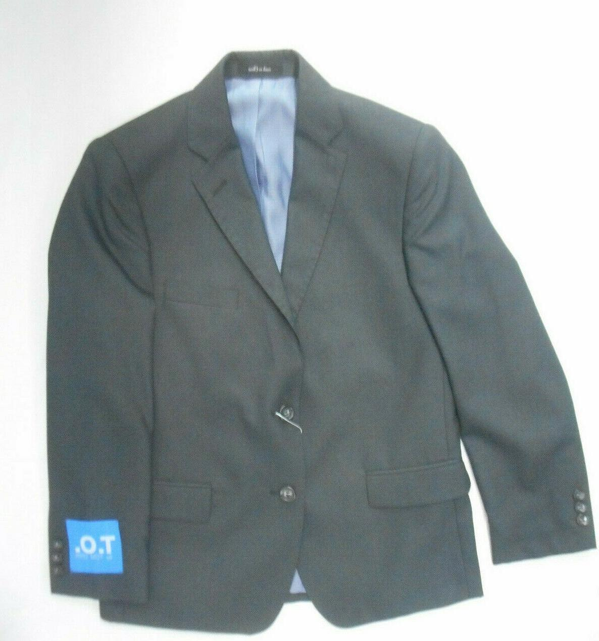 Boys T.O. Charcoal Gray 2PC. Suit Sizes Regular