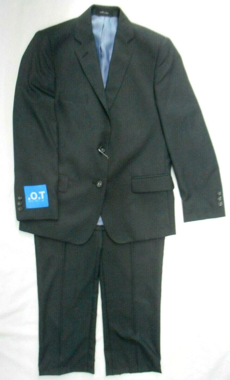 boys t o charcoal gray 2pc suit