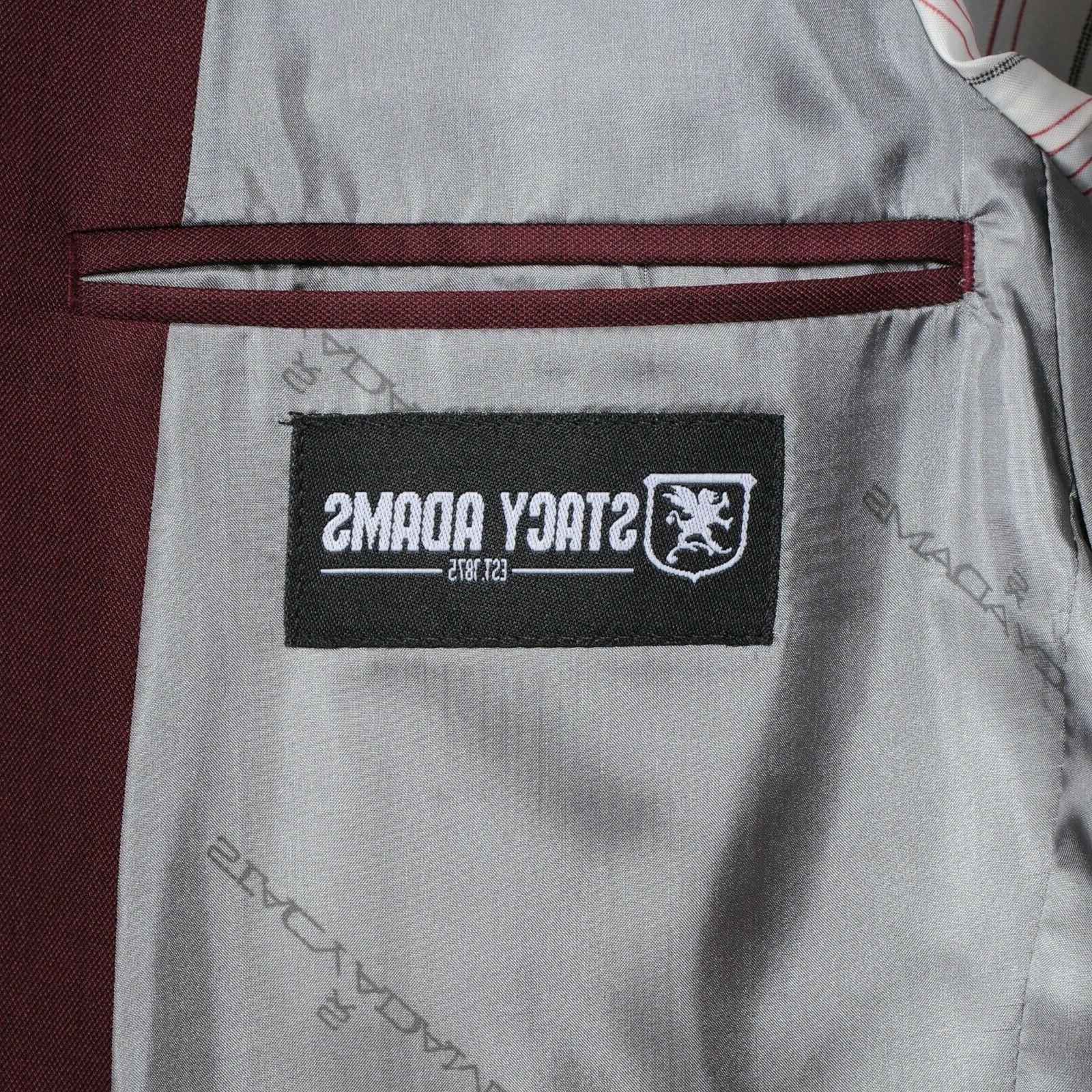 Burgundy Suit Pants 29R