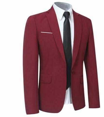 Burgandy Suit and Modern Style- Cheap