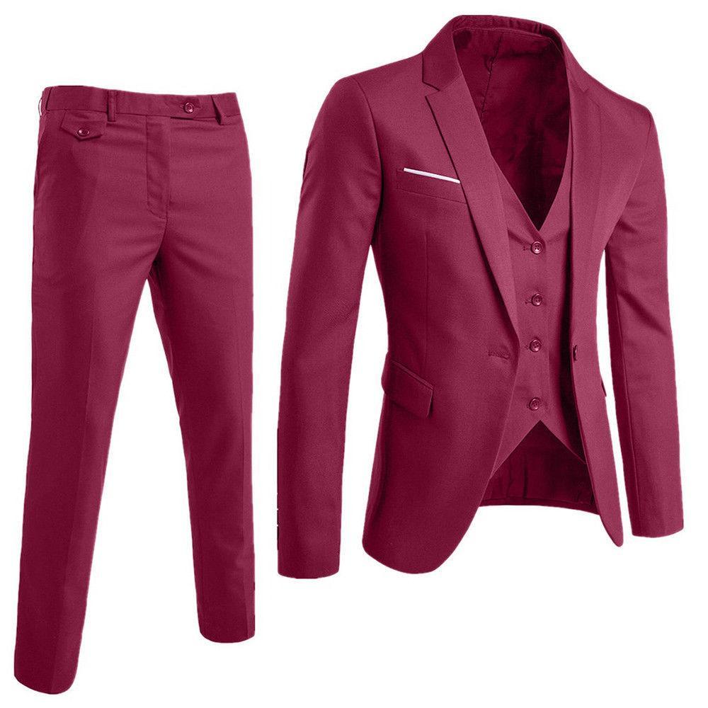 Business Party Vest Pants