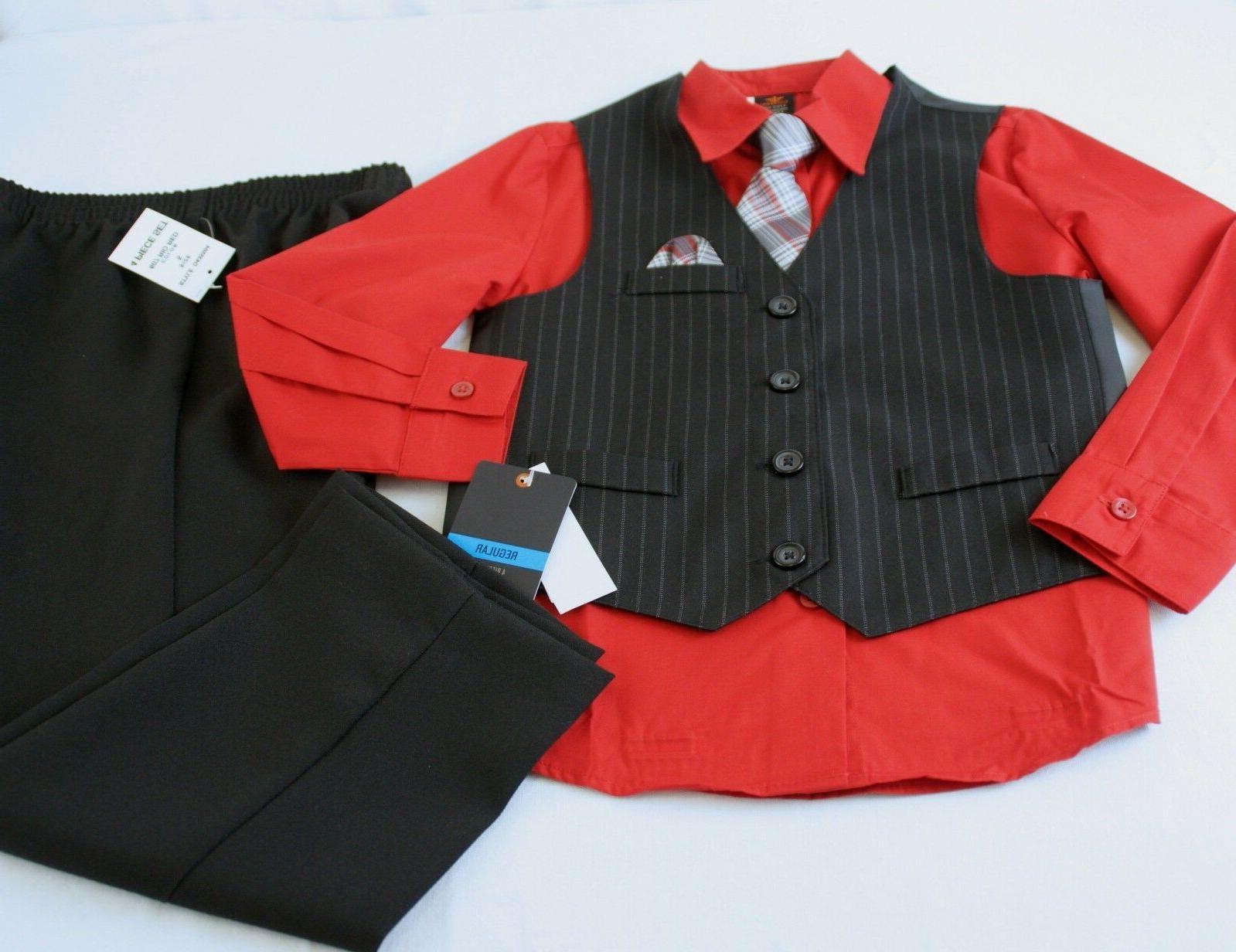 Dockers by Boys 4 Black Size 5 Pants Vest