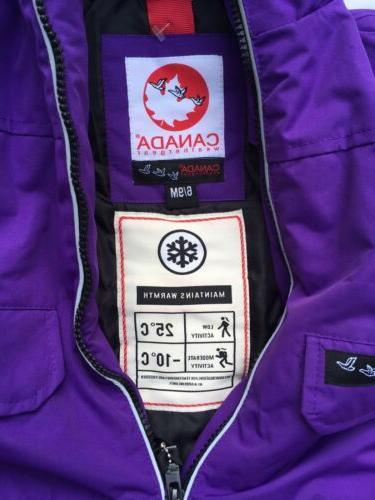 Canada Gear 6-9 Down Snow Suit