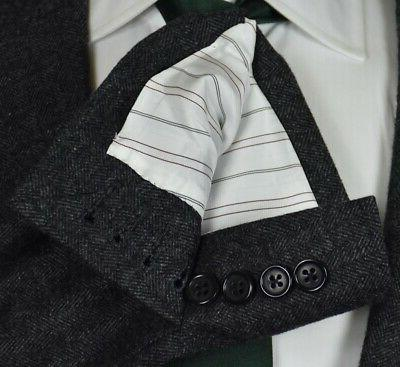 HICKEY & Co Gray WOOL SUIT 46 New