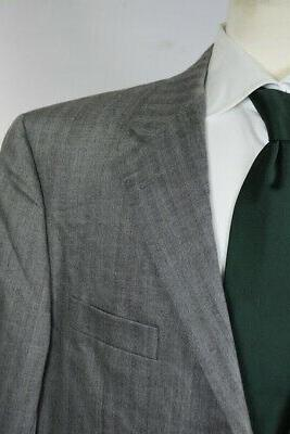 HICKEY & Gray WOOL SUIT Working Cuffs Sz R