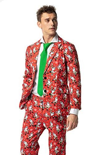 christmas bachelor party suit funny