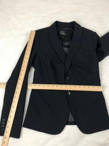 The Limited SZ Pants 4 Blazer Cassidy Navy