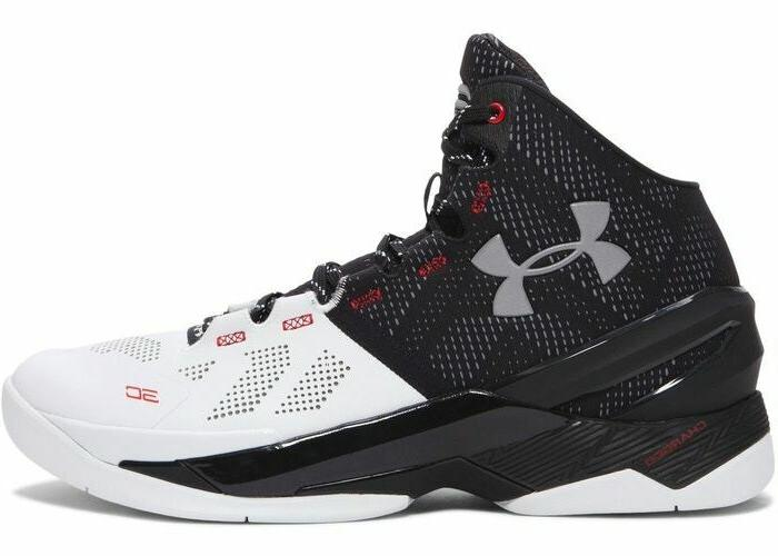 curry 2 suit and tie black white