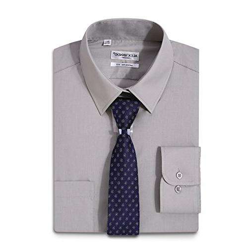 dress shirts solid regular fit