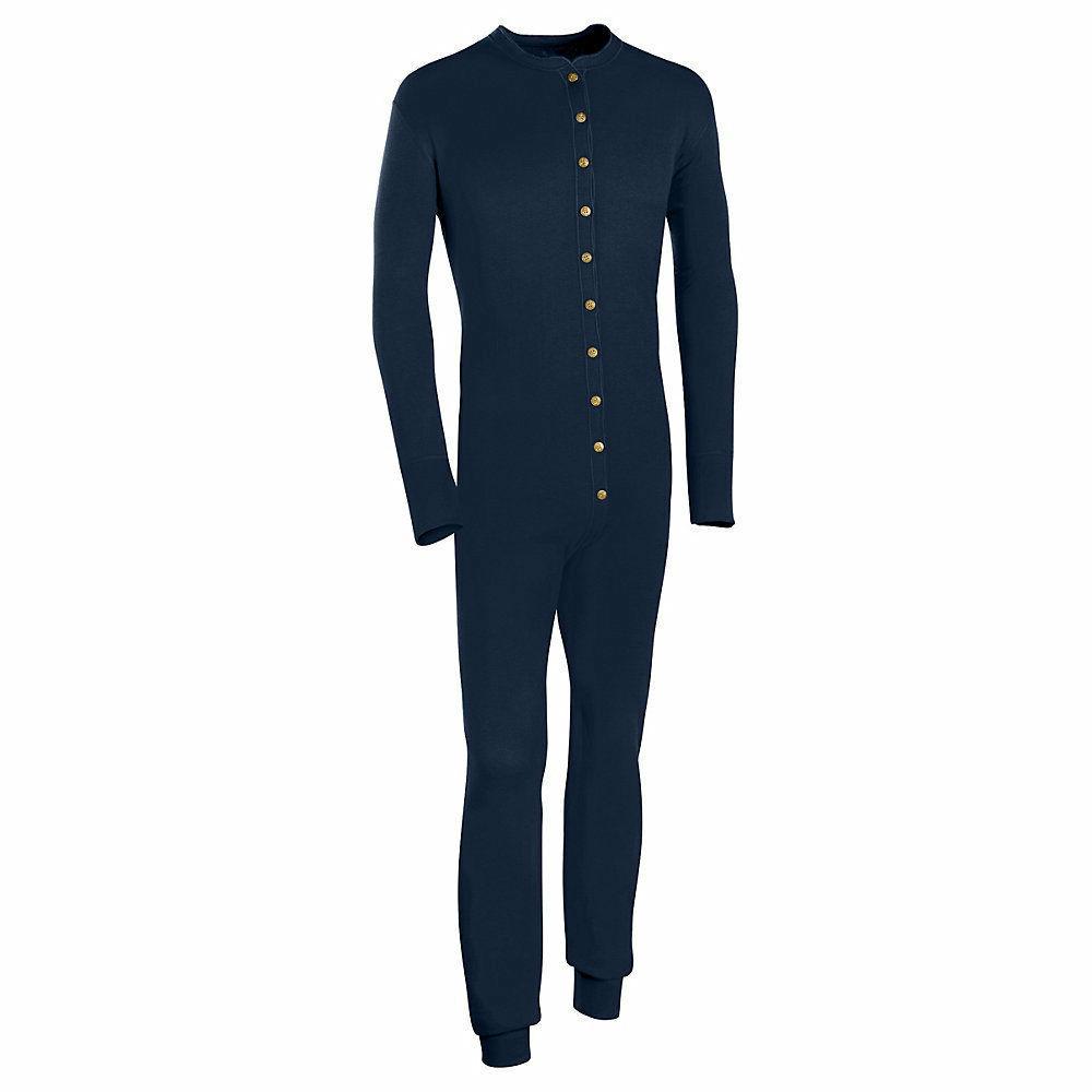 Duofold Wool-Blend Men's Union Suit