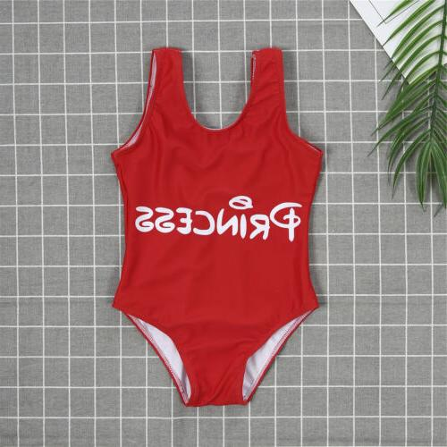 Family Men Kids One-piece Swimsuit Monokini Bathing Bikini