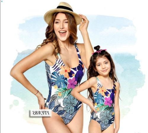 Family Men One-piece Swimsuit Swimwear Monokini Bathing Suit