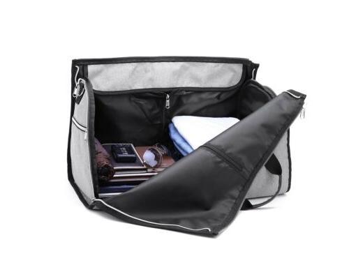 Fashion 2 1 Bag+Duffle Business Travel Portable Bag