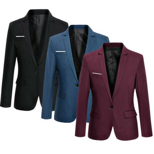 fashion men s slim fit one button