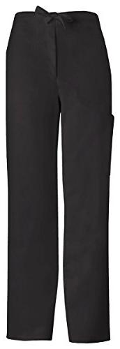 Cherokee Men's Fly Front Drawstring Pant_Black_XX-Large,1022