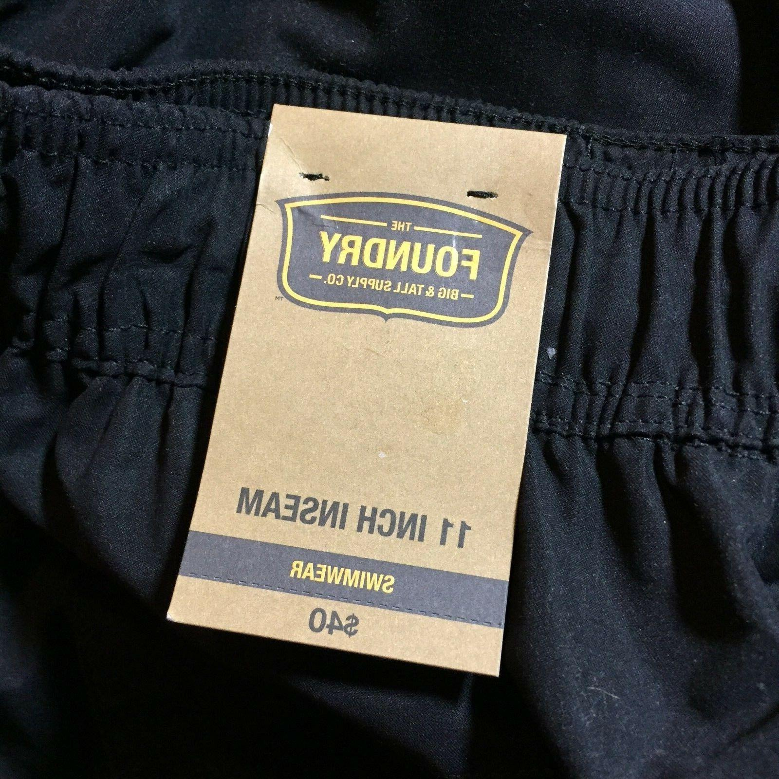 Foundry Bathing Swim Bottom Cargo Shorts Mens 4XL New