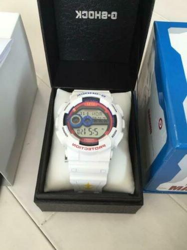 g shock watch mobile suit gundam collaboration