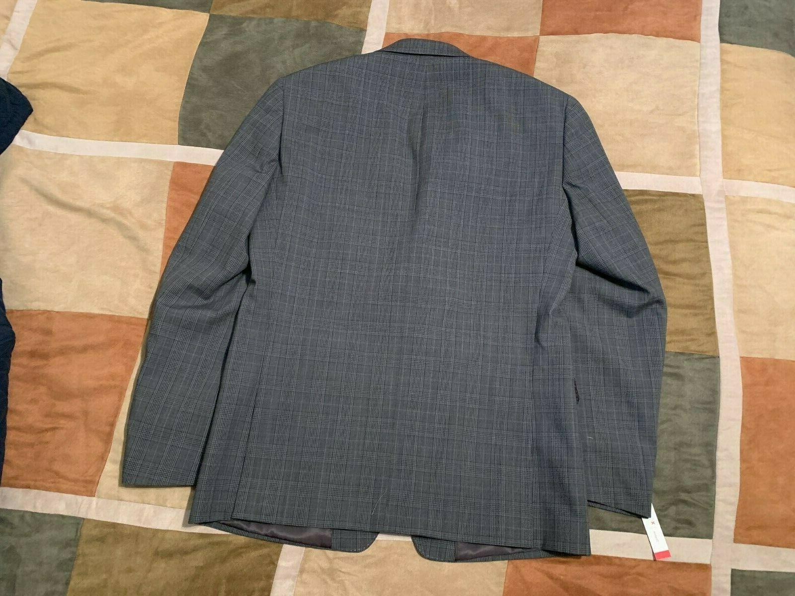 Calvin Klein wool sport coat blazer R NEW