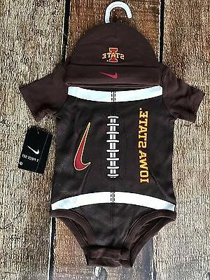 iowa state beanie and body suit combo
