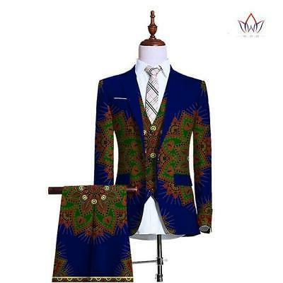 Blazers for Men Piece Fit Wedding Men Retr