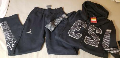jumpman track set suit small track suit