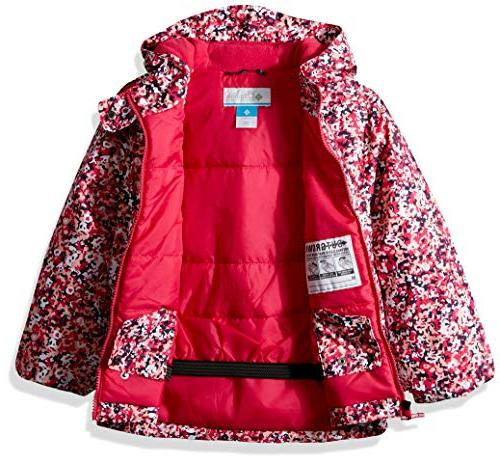 Toddler Frosty Cactus Pink Floral Print, 4T