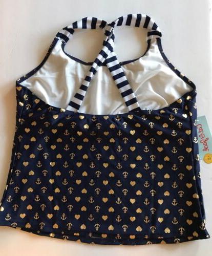 Kids size Plus Cat & Jack Piece sailor blue