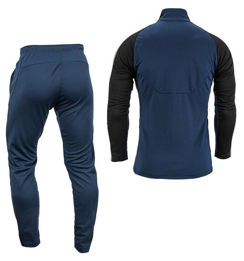 Mizuno Knit Full-Zip Sets Training Suit Navy