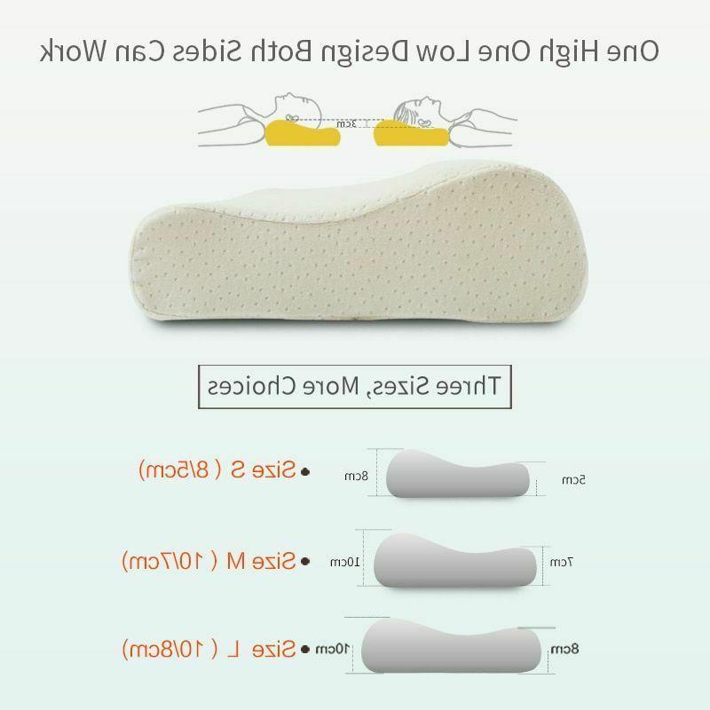 Memory Foam Rebound Orthopedic Cervical Neck Pillow