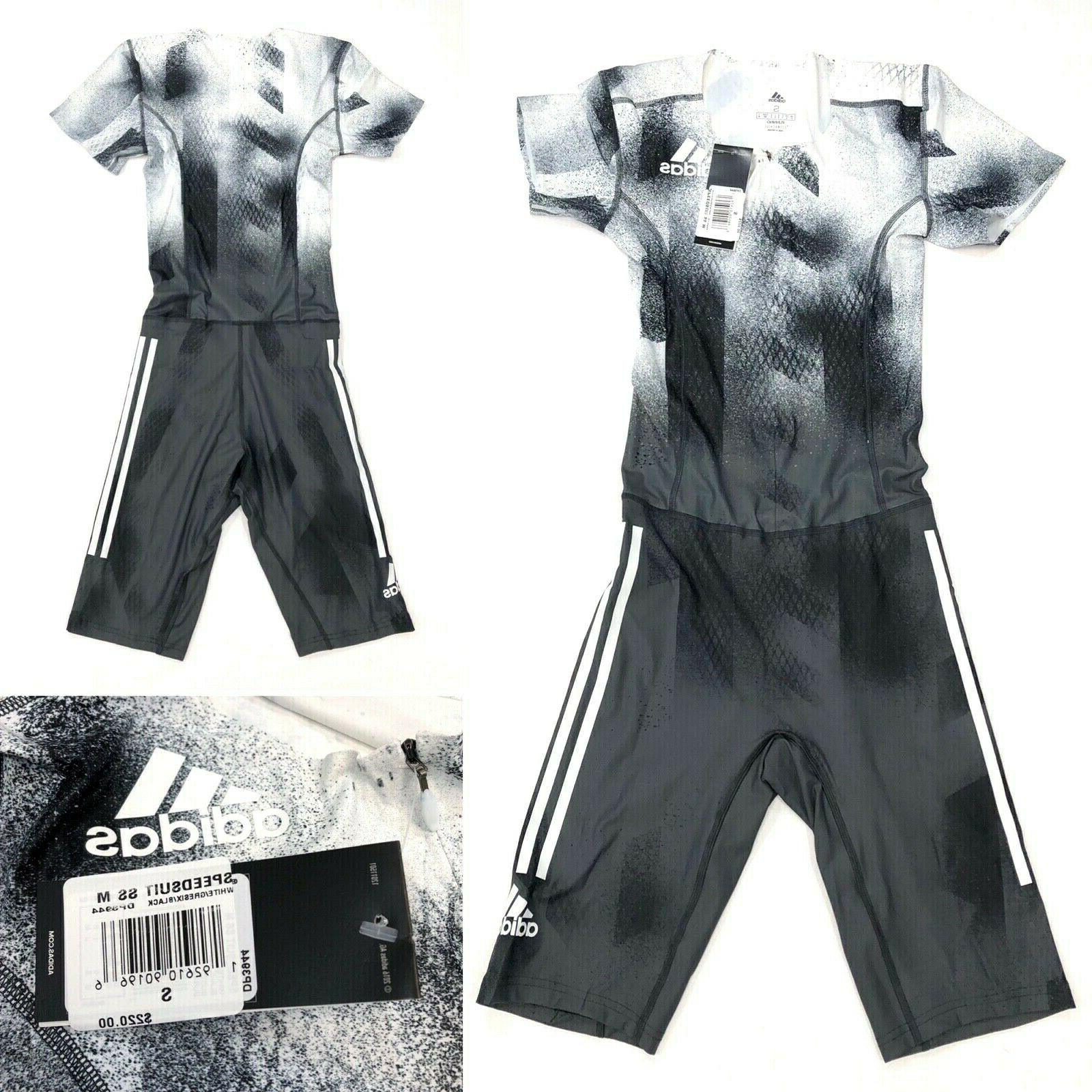 ADIDAS Men's Sponsored Speed Suit NWT SMALL